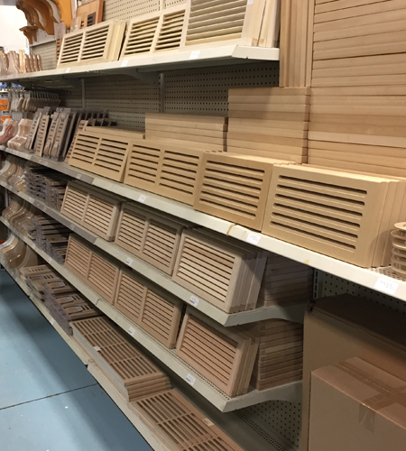Wood Registers Returns And Vent Covers 187 Windsor Plywood 174
