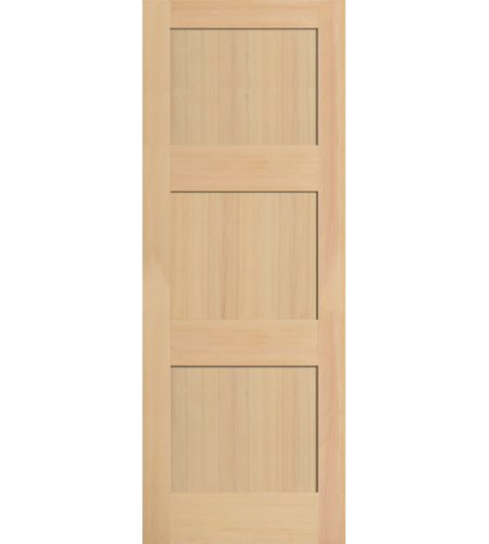 Interior Masonite Hemlock 3 Panel Shaker Door Windsor Plywood