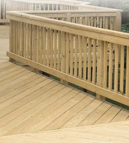 Micropro brown treated lumber windsor plywood for Brown treated deck boards