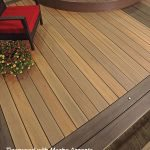 timbertech legacy tigerwood mocha accents composite decking