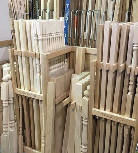 840 0120 Solid Wood Spindles 187 Windsor Plywood 174
