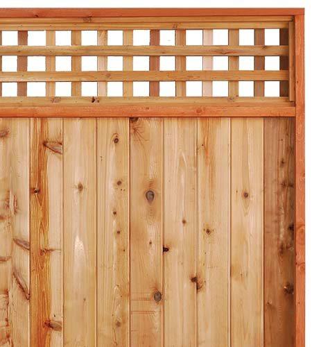 757 0125 Cedar Wood Heavy Duty Lattice Panels 187 Windsor