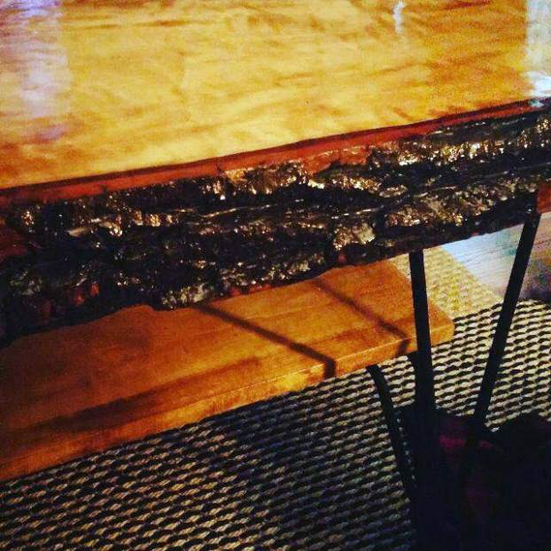 jonny aspen live edge table