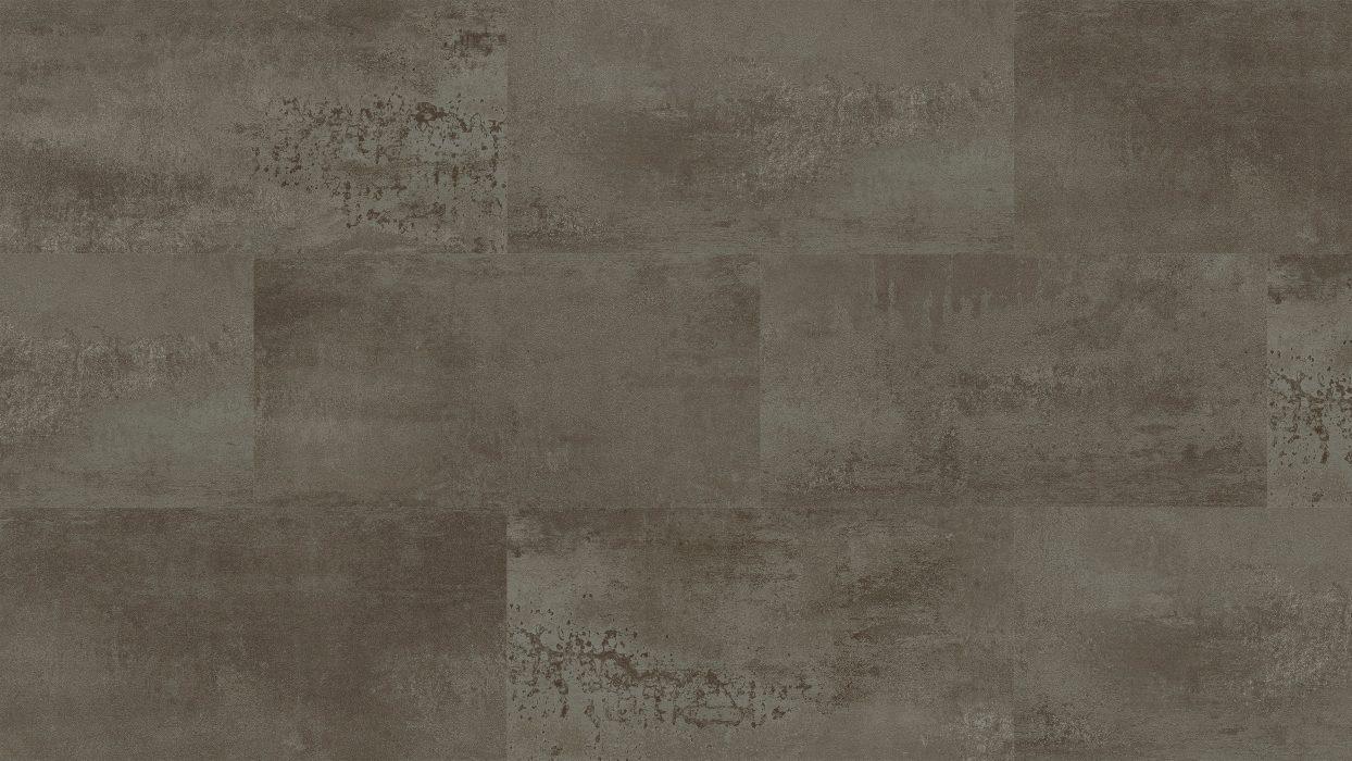 5mm Commercial Titanium Stone Loose Lay Vinyl Tile