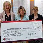 windsor plywood donates to eagle ridge hospital foundation