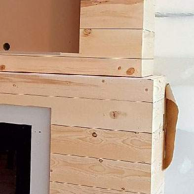 shiplap work in progress