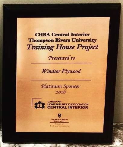 Windsor plywood certificate