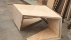 Folded Berlinia Table by Gellhaus20