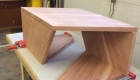 Folded Berlinia Table by Gellhaus 2