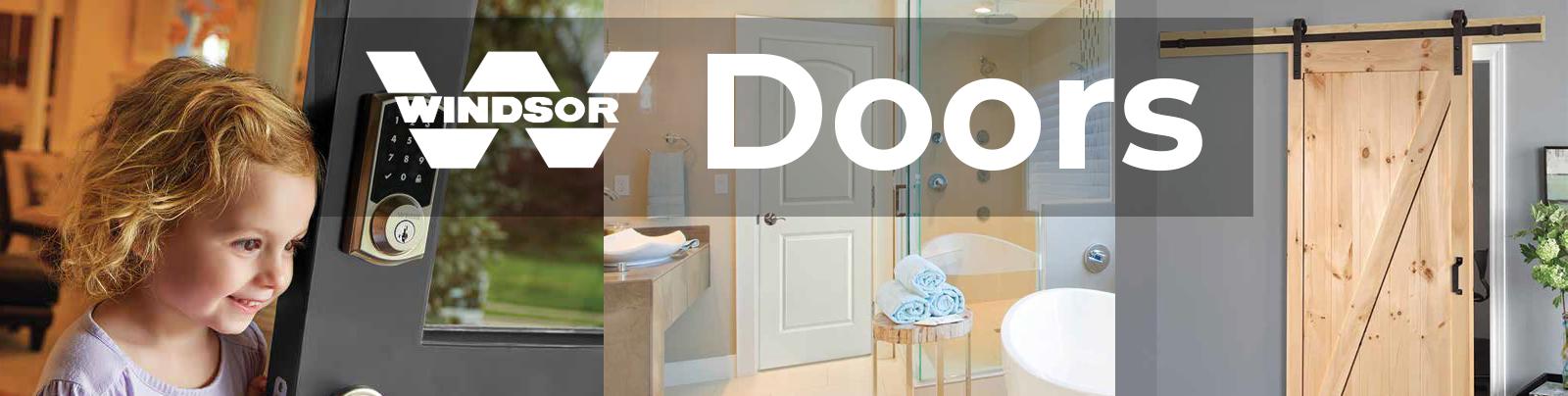 winsor plywood doors