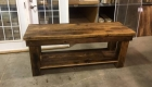 Rustic Barn Door Table Project 5