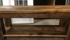 Rustic Barn Door Table Project 2