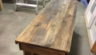 Rustic Barn Door Table Project 1